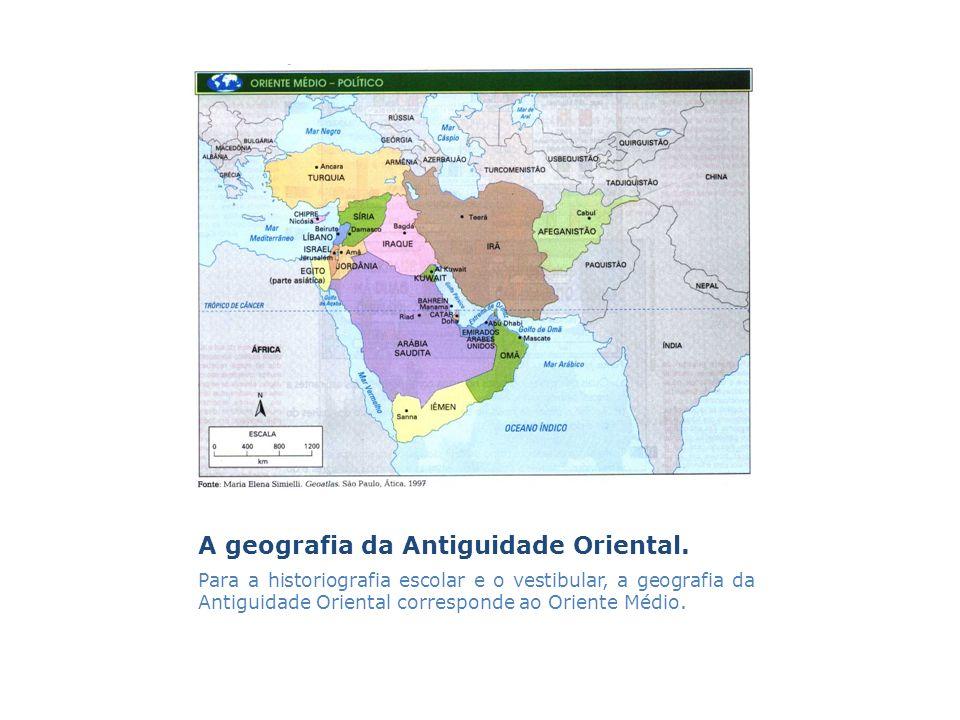 A geografia da Antiguidade Oriental.