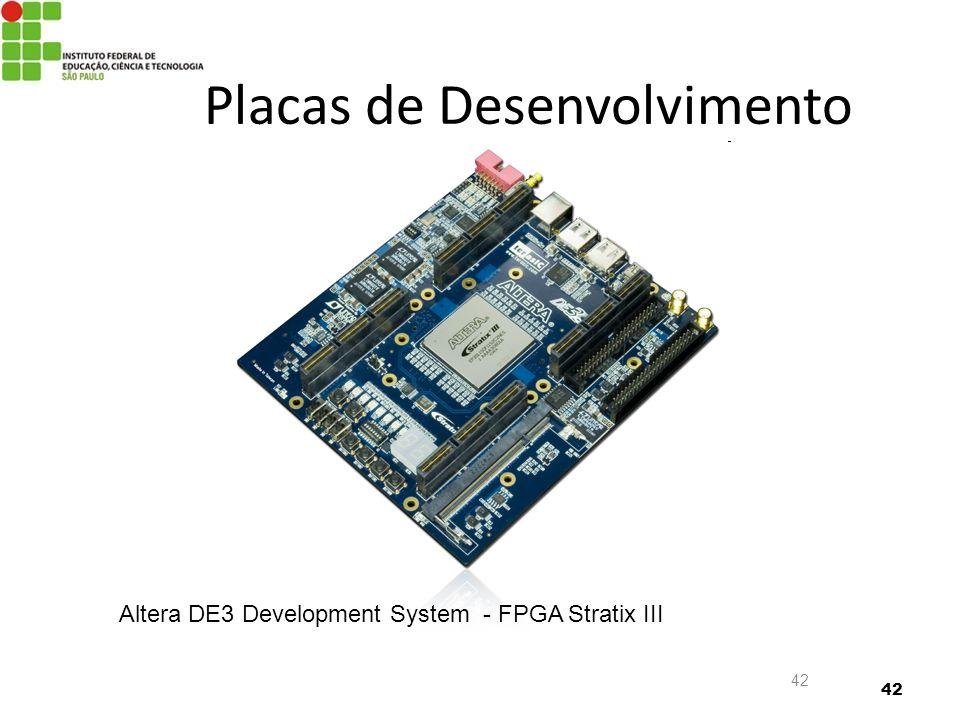 Placas de Desenvolvimento