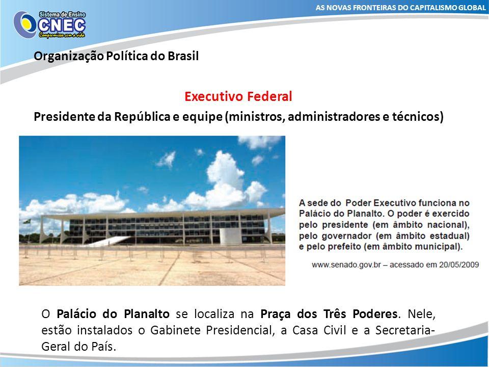 Executivo Federal Organização Política do Brasil