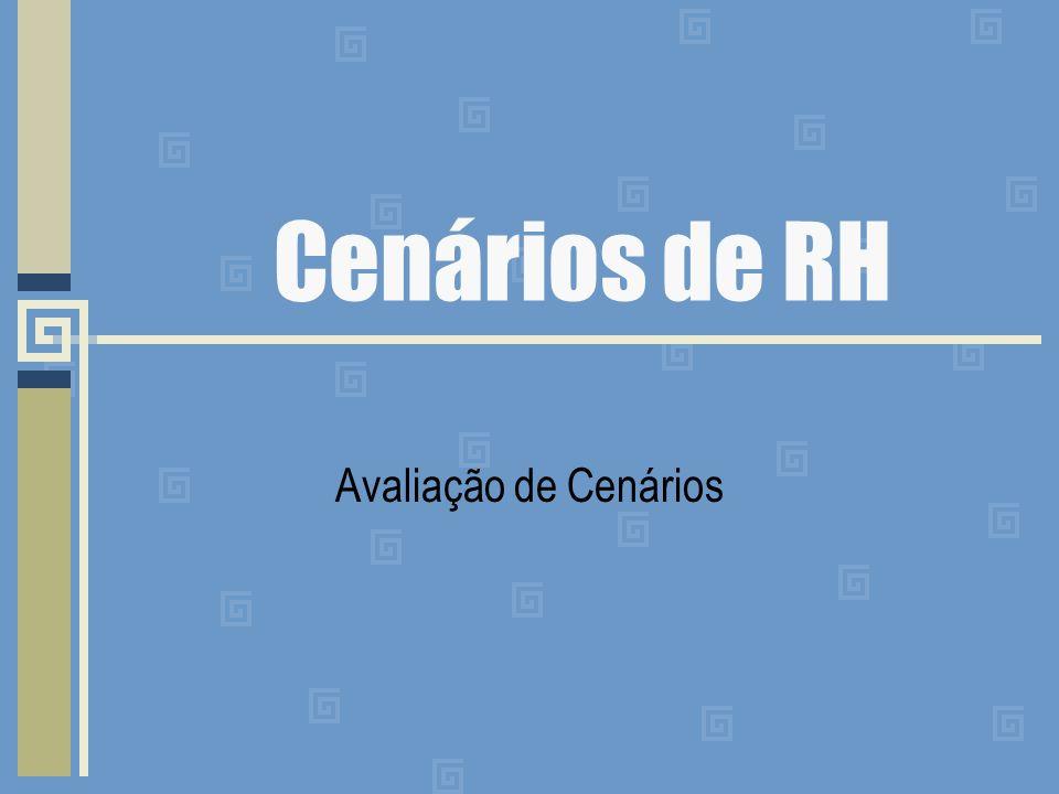 Cenários de RH Avaliação de Cenários