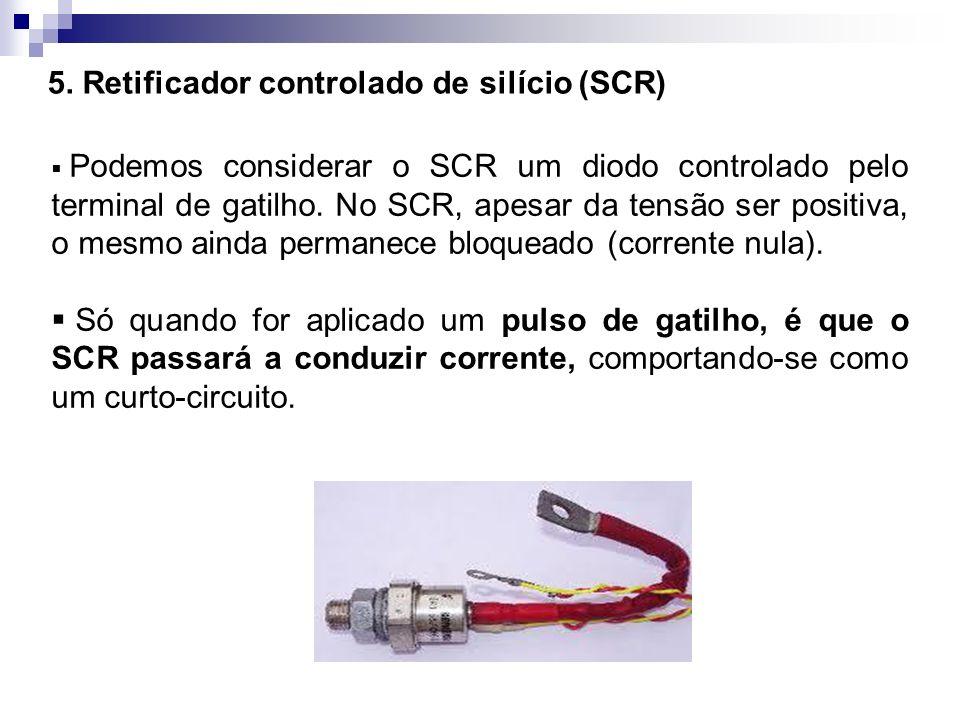 5. Retificador controlado de silício (SCR)