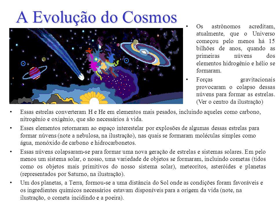 A Evolução do Cosmos