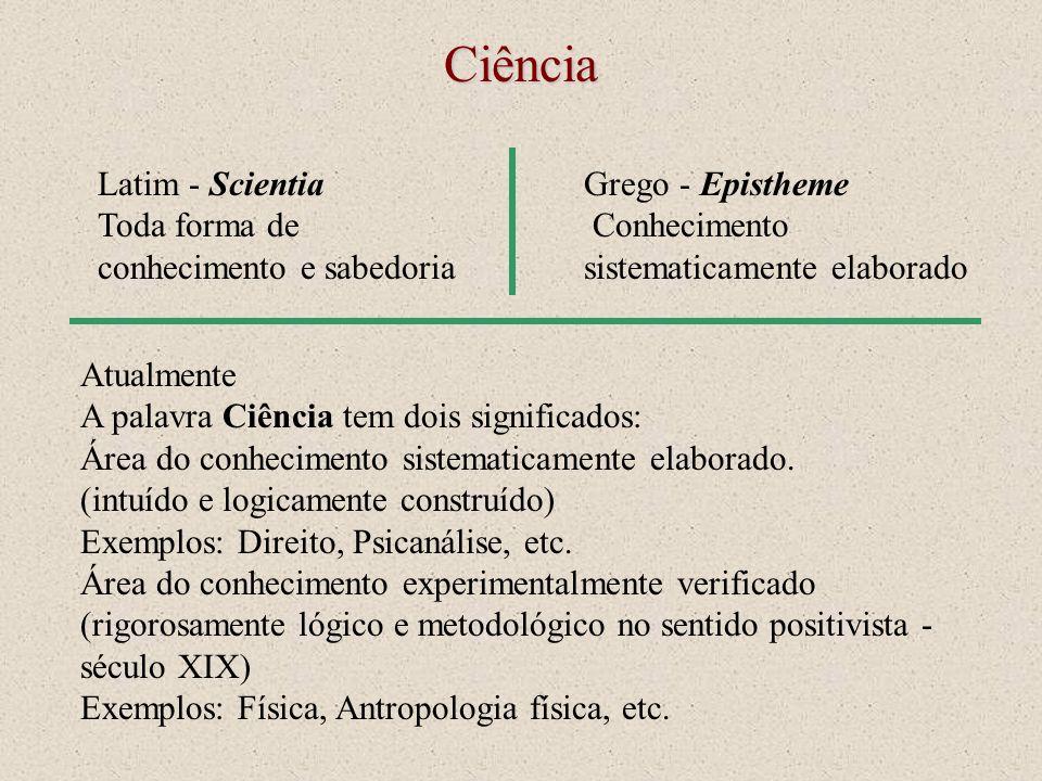 Ciência Latim - Scientia Toda forma de conhecimento e sabedoria