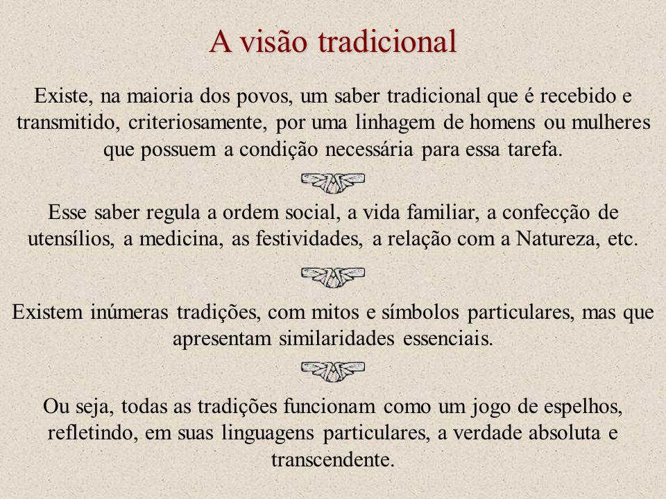 A visão tradicional