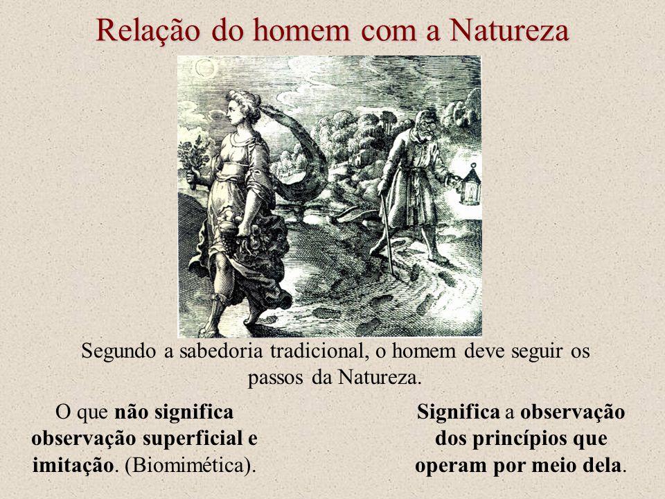 Relação do homem com a Natureza