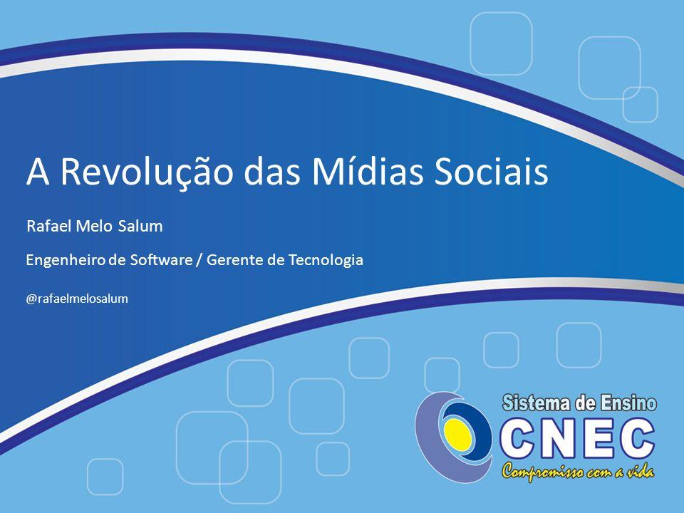 A Revolução das Mídias Sociais