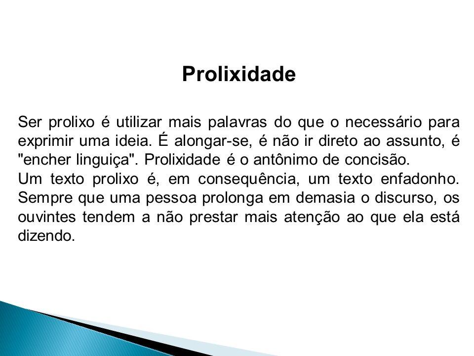 Prolixidade