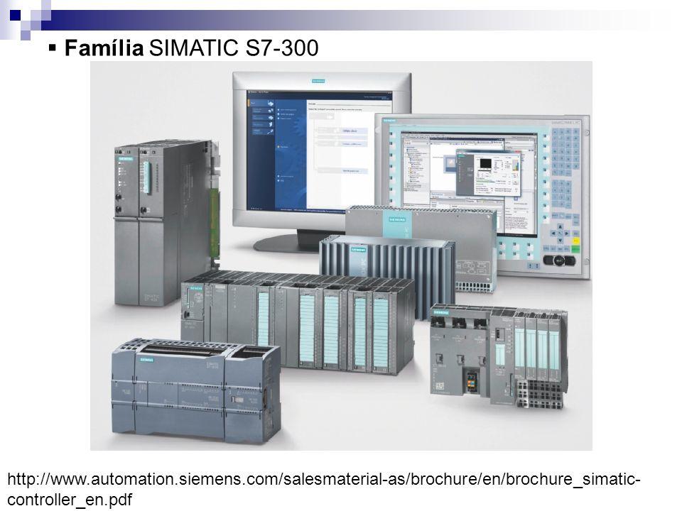 Família SIMATIC S7-300 http://www.automation.siemens.com/salesmaterial-as/brochure/en/brochure_simatic-controller_en.pdf.