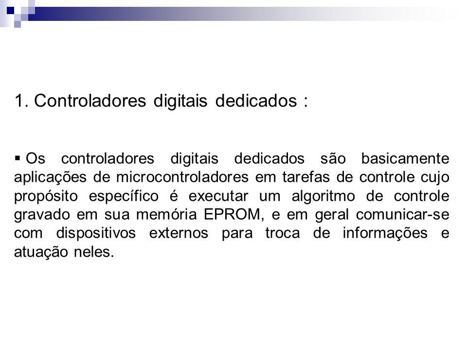 1. Controladores digitais dedicados :