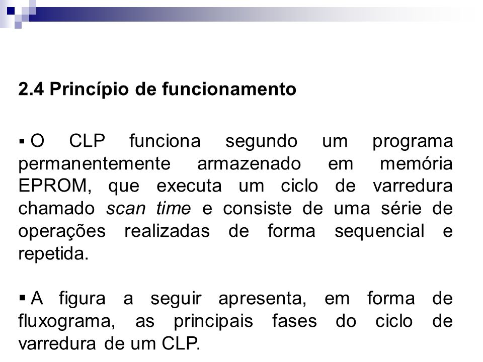 2.4 Princípio de funcionamento