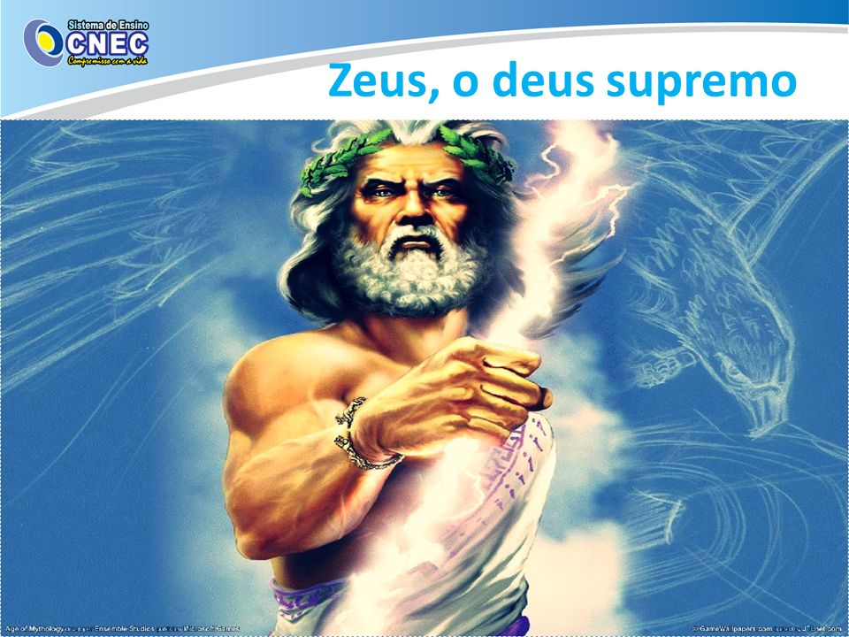 Zeus, o deus supremo