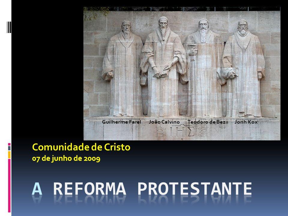 Comunidade de Cristo 07 de junho de 2009