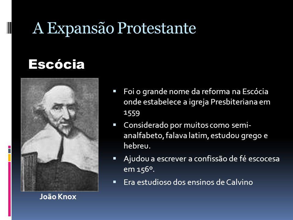 A Expansão Protestante