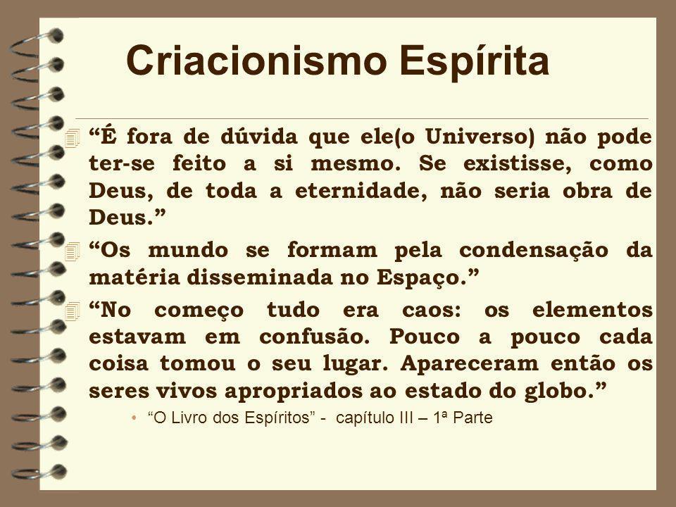 Criacionismo Espírita