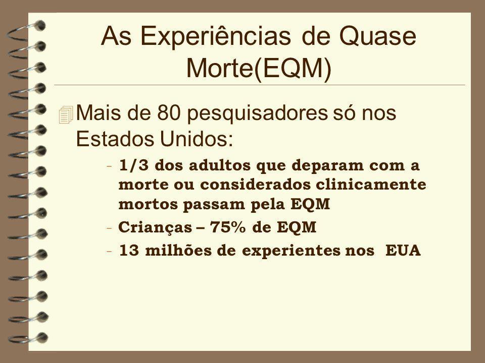 As Experiências de Quase Morte(EQM)