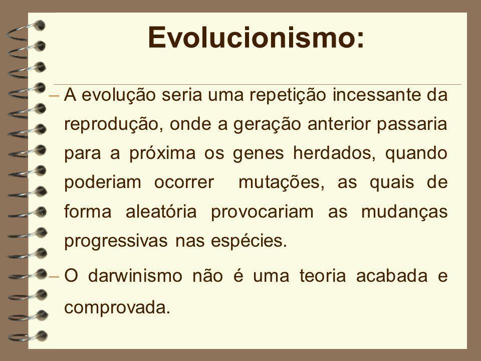 Evolucionismo: