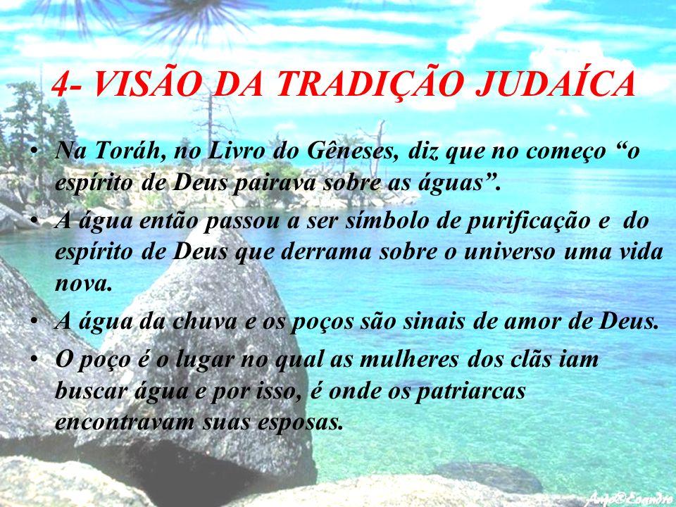 4- VISÃO DA TRADIÇÃO JUDAÍCA
