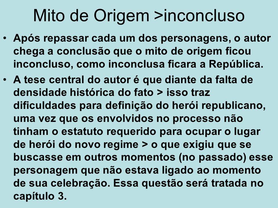 Mito de Origem >inconcluso