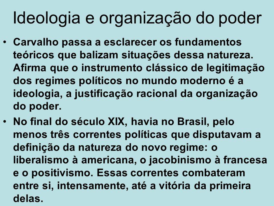 Ideologia e organização do poder