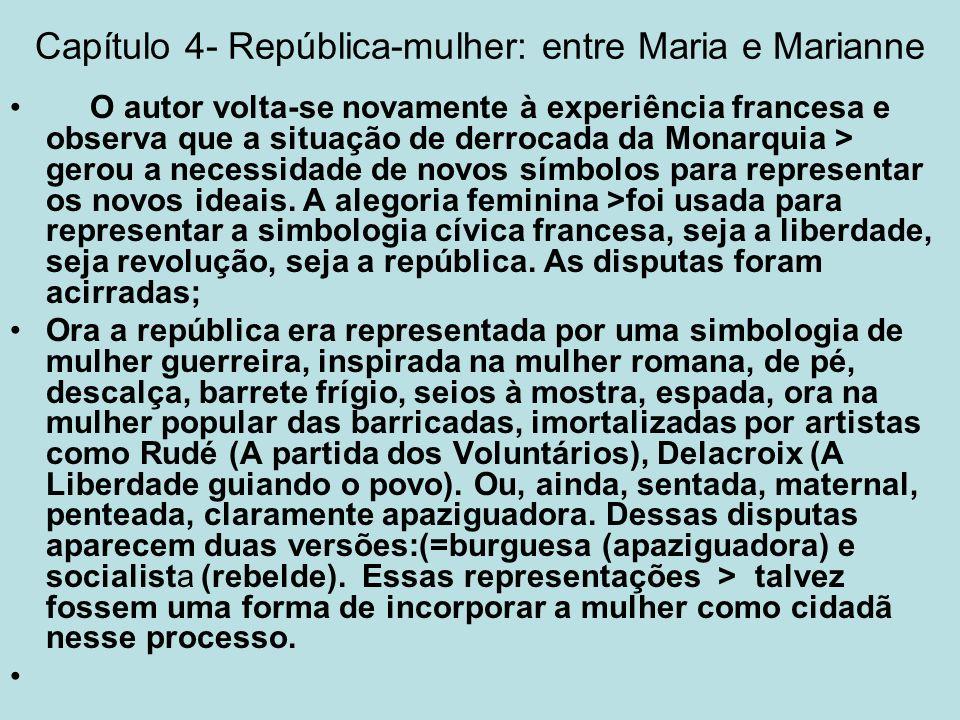 Capítulo 4- República-mulher: entre Maria e Marianne