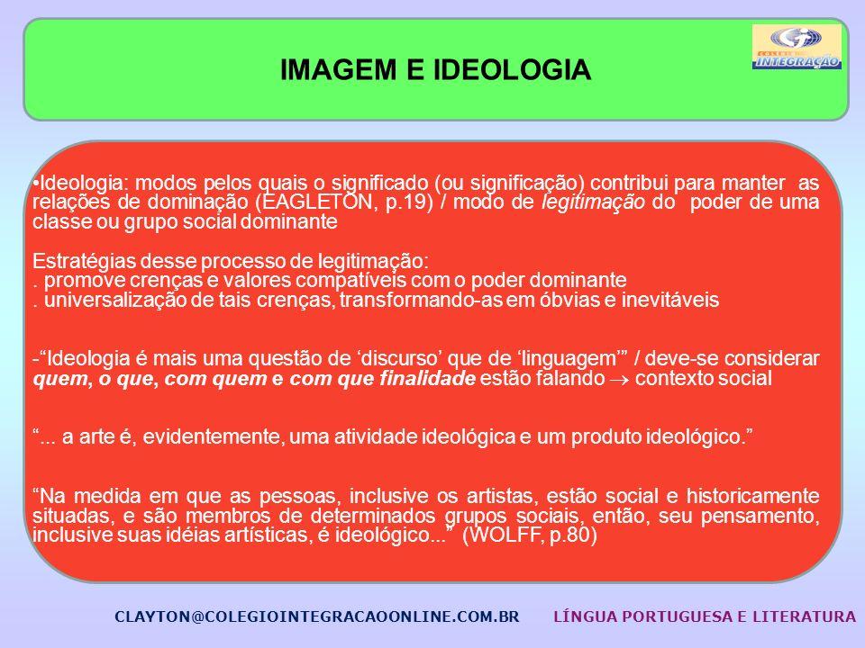IMAGEM E IDEOLOGIA