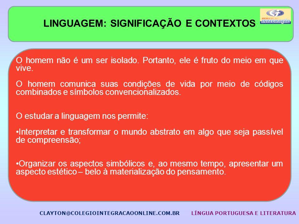 LINGUAGEM: SIGNIFICAÇÃO E CONTEXTOS