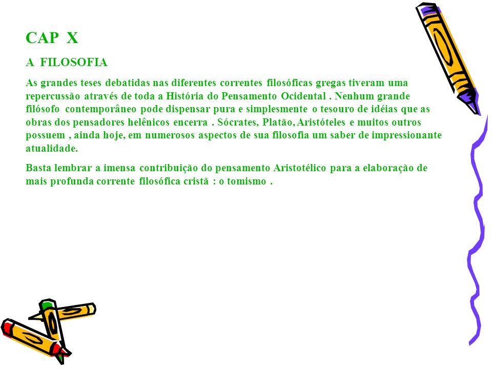 CAP X A FILOSOFIA.