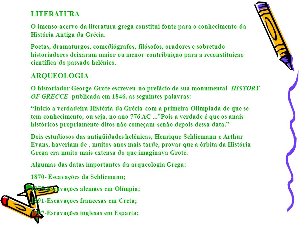 LITERATURA ARQUEOLOGIA