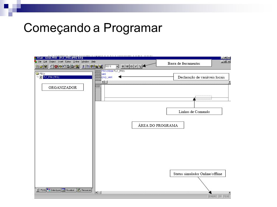 Começando a Programar