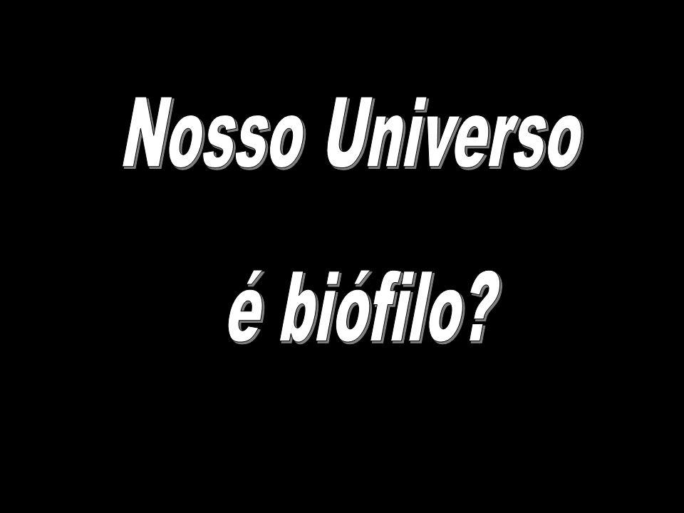 Nosso Universo é biófilo
