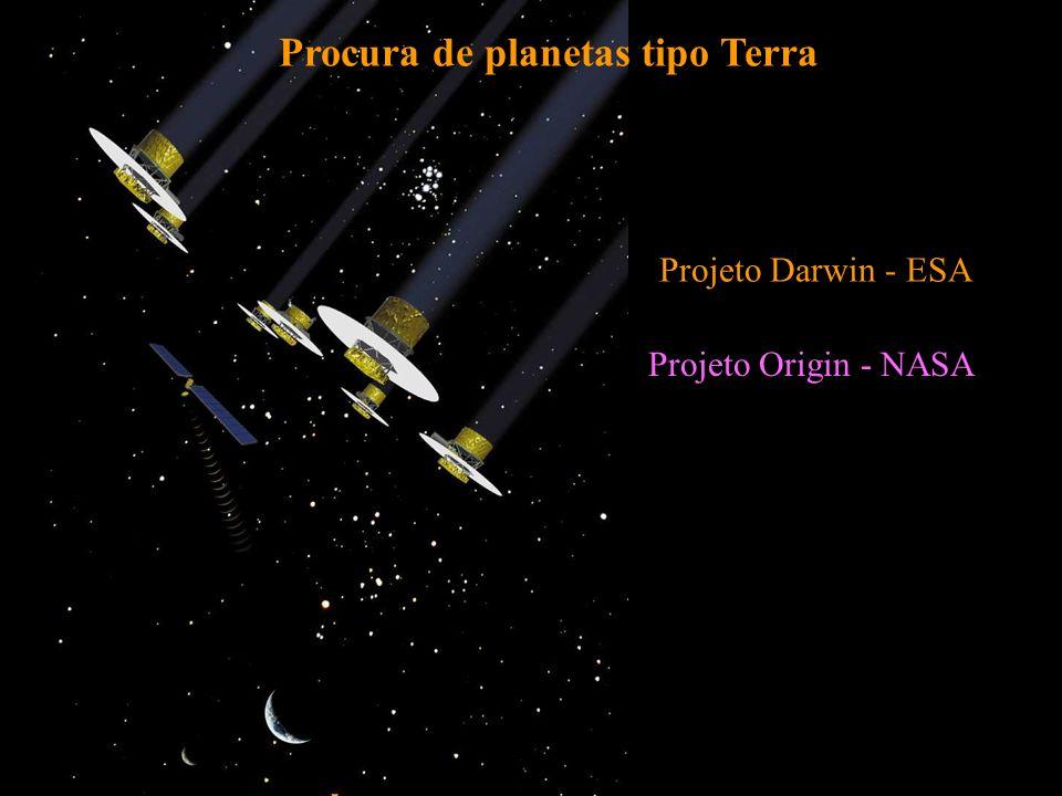 Procura de planetas tipo Terra