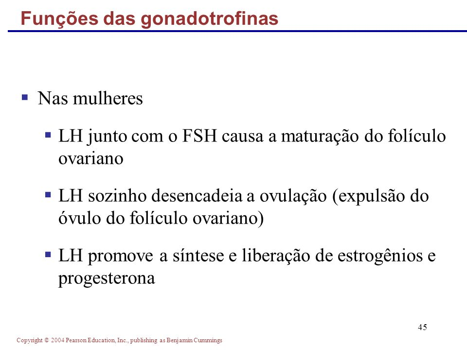 Funções das gonadotrofinas