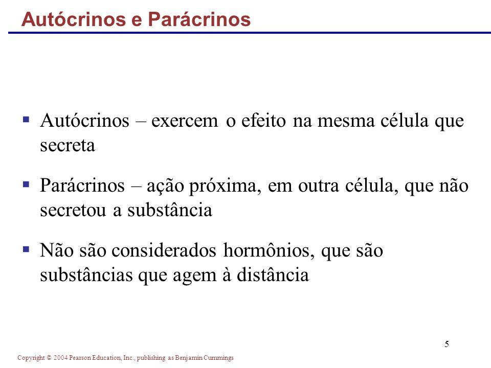 Autócrinos e Parácrinos
