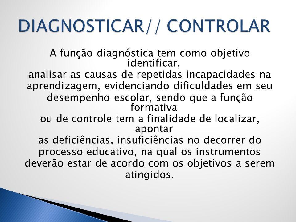 DIAGNOSTICAR// CONTROLAR