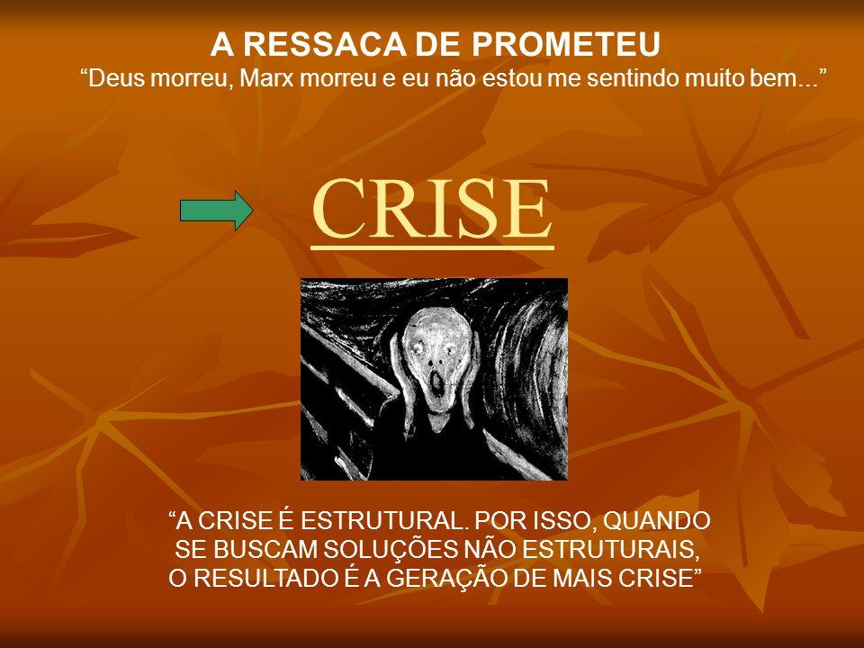 CRISE A RESSACA DE PROMETEU