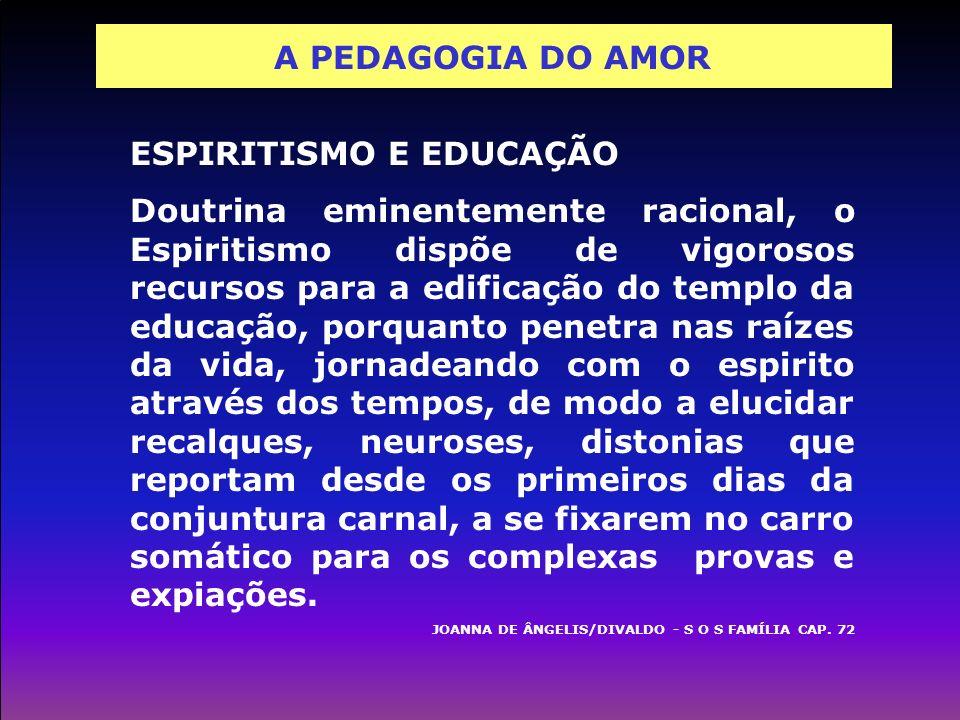 ESPIRITISMO E EDUCAÇÃO