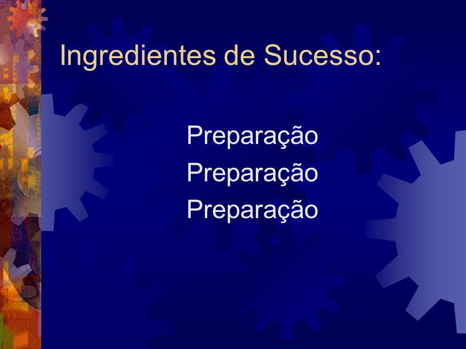 Ingredientes de Sucesso: