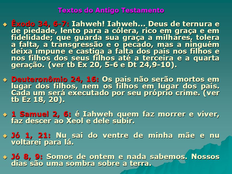 Textos do Antigo Testamento