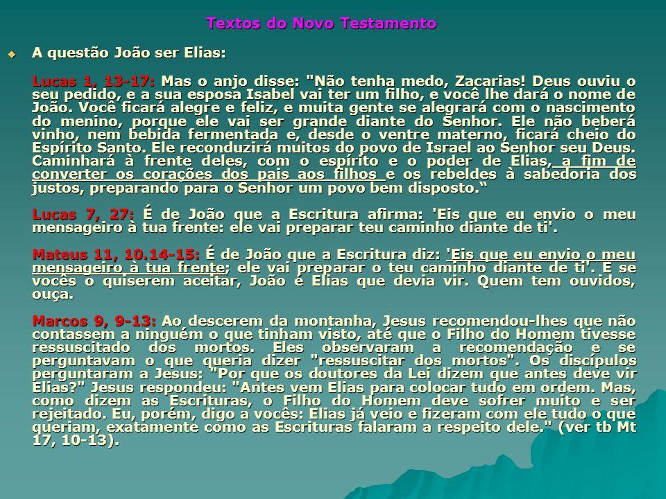 Textos do Novo Testamento