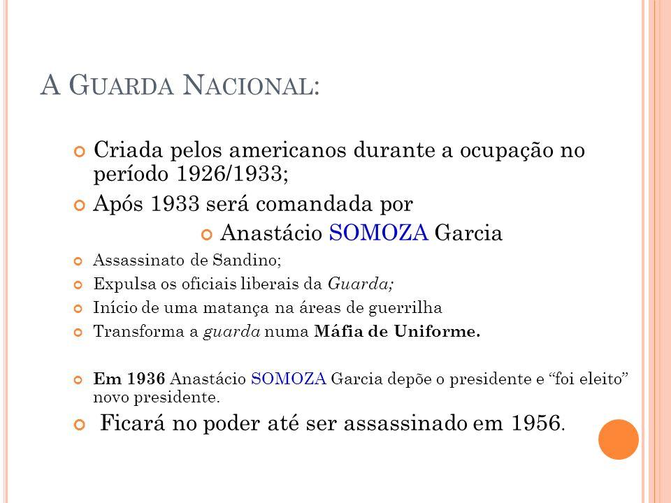 Anastácio SOMOZA Garcia
