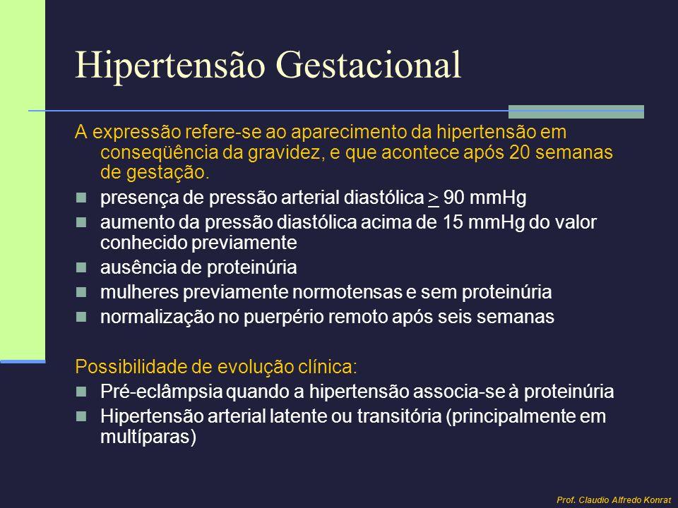 Hipertensão Gestacional