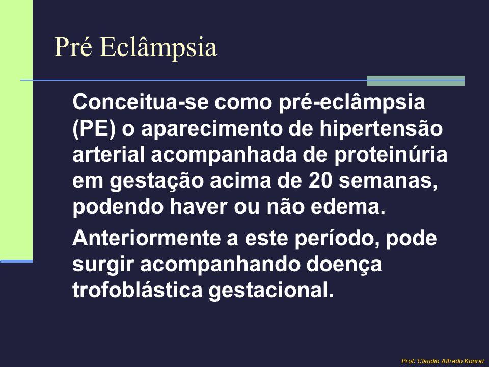 Pré Eclâmpsia