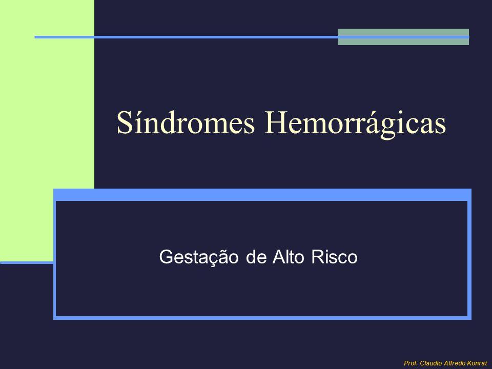 Síndromes Hemorrágicas