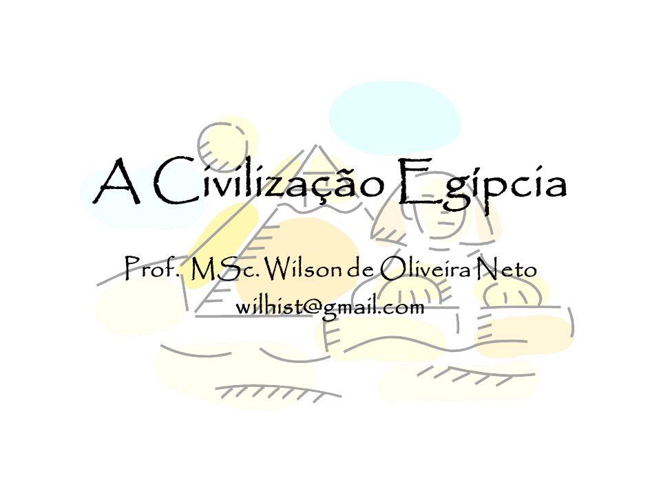 Prof. MSc. Wilson de Oliveira Neto wilhist@gmail.com