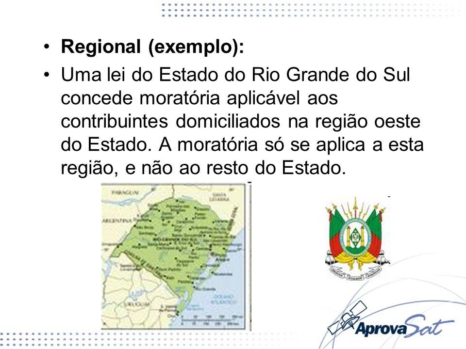 Regional (exemplo):