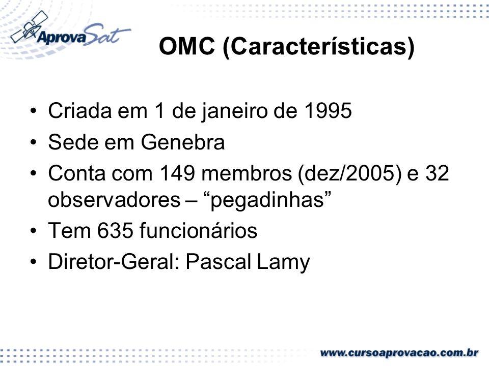 OMC (Características)