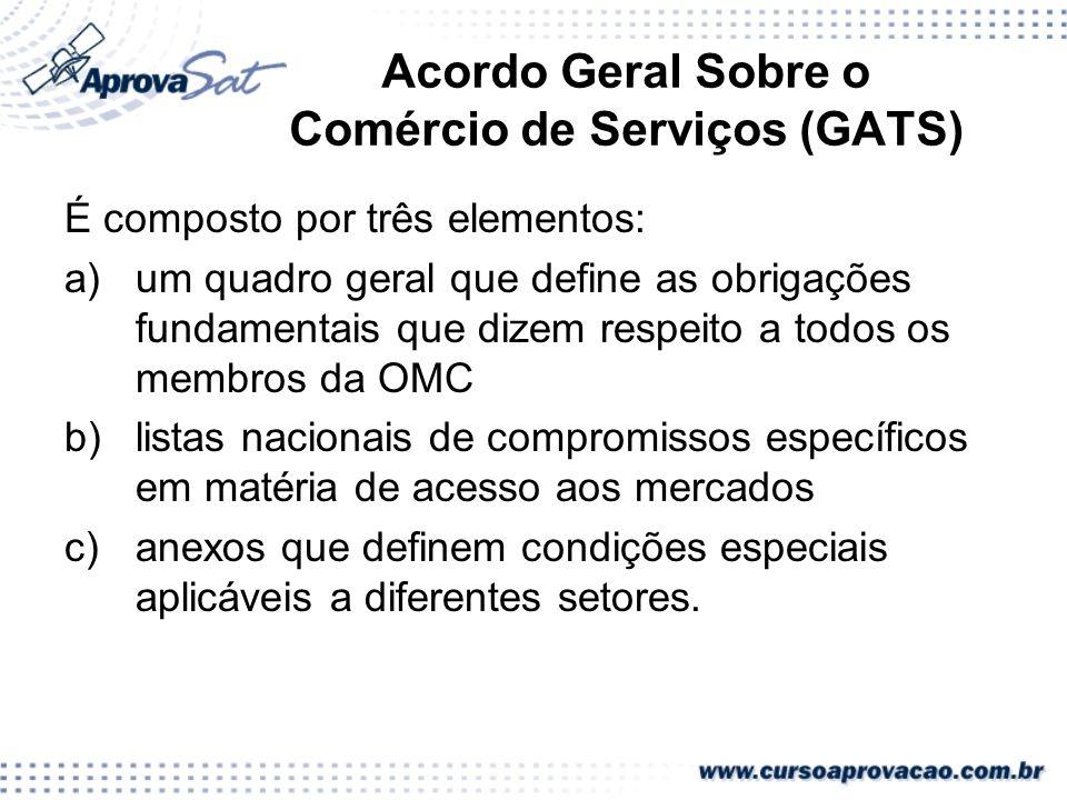 Acordo Geral Sobre o Comércio de Serviços (GATS)