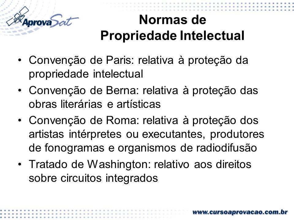 Normas de Propriedade Intelectual