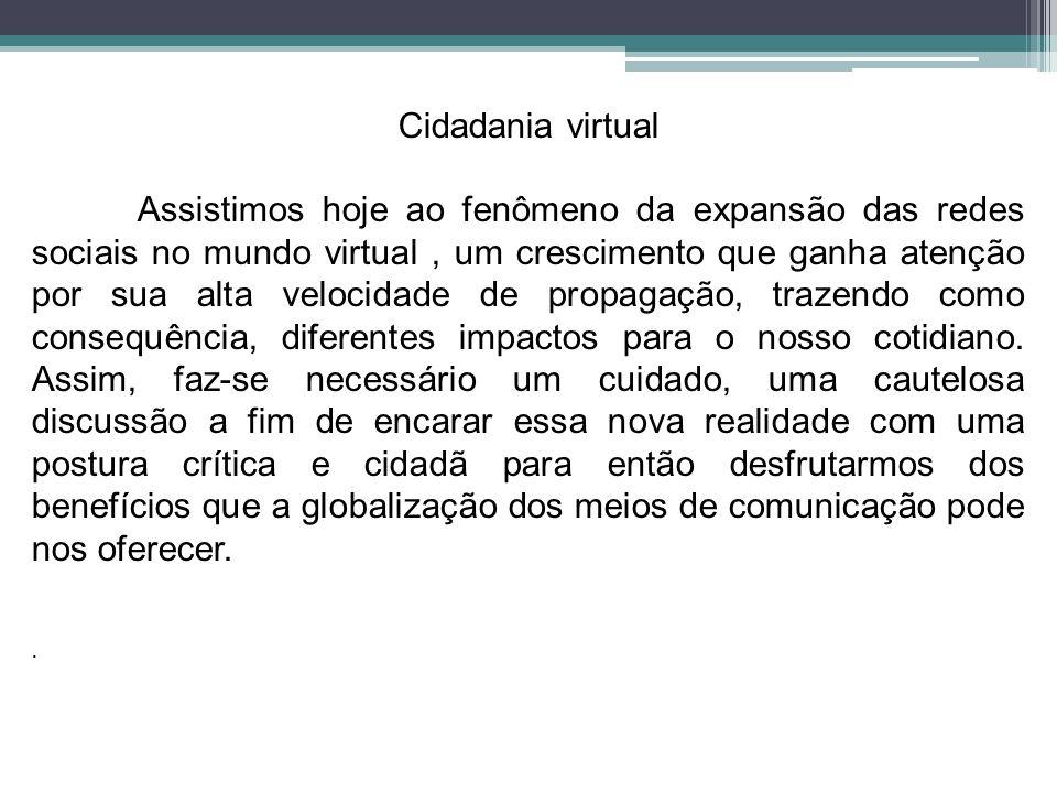 Cidadania virtual