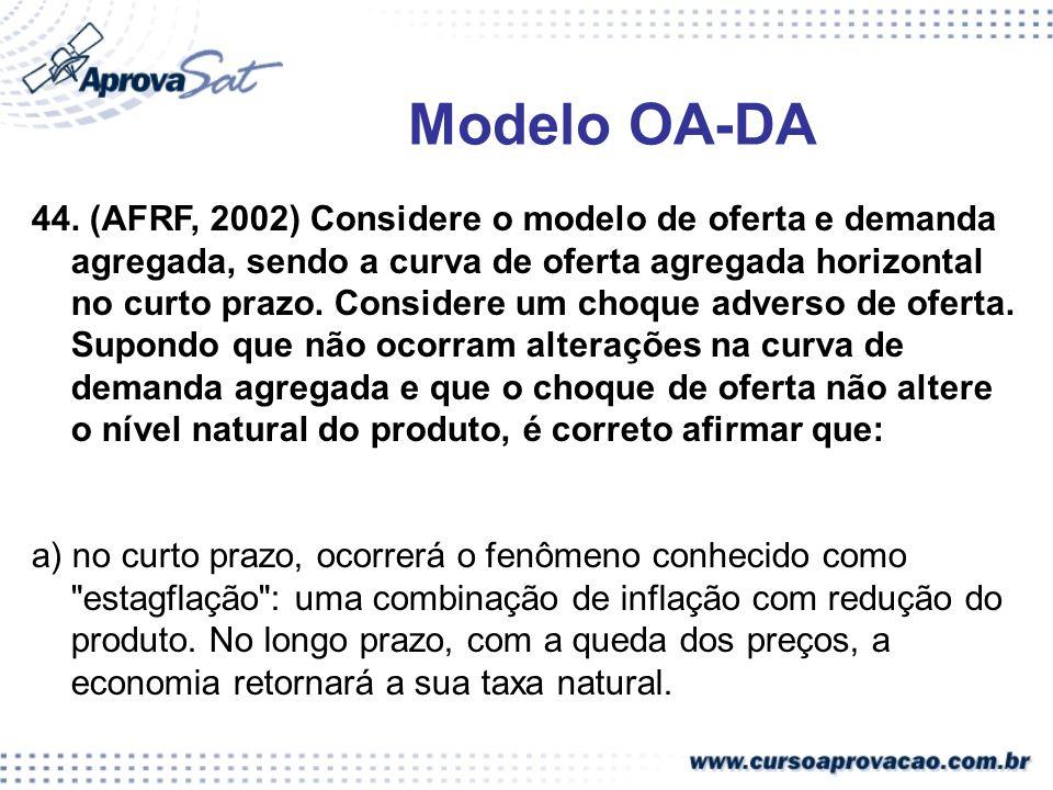 Modelo OA-DA